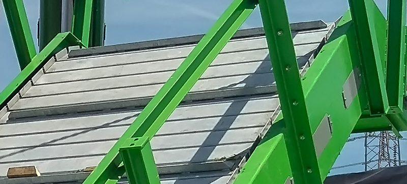 Transportador de placa de acero