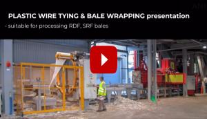 Kunststoffdrahtbindung und Ballenwickel