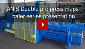 ANIS Präsentation der Doppelprepress-Flaps-Ballenpressenserie