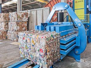 Hochgeschwindigkeits-Recyclingpresse