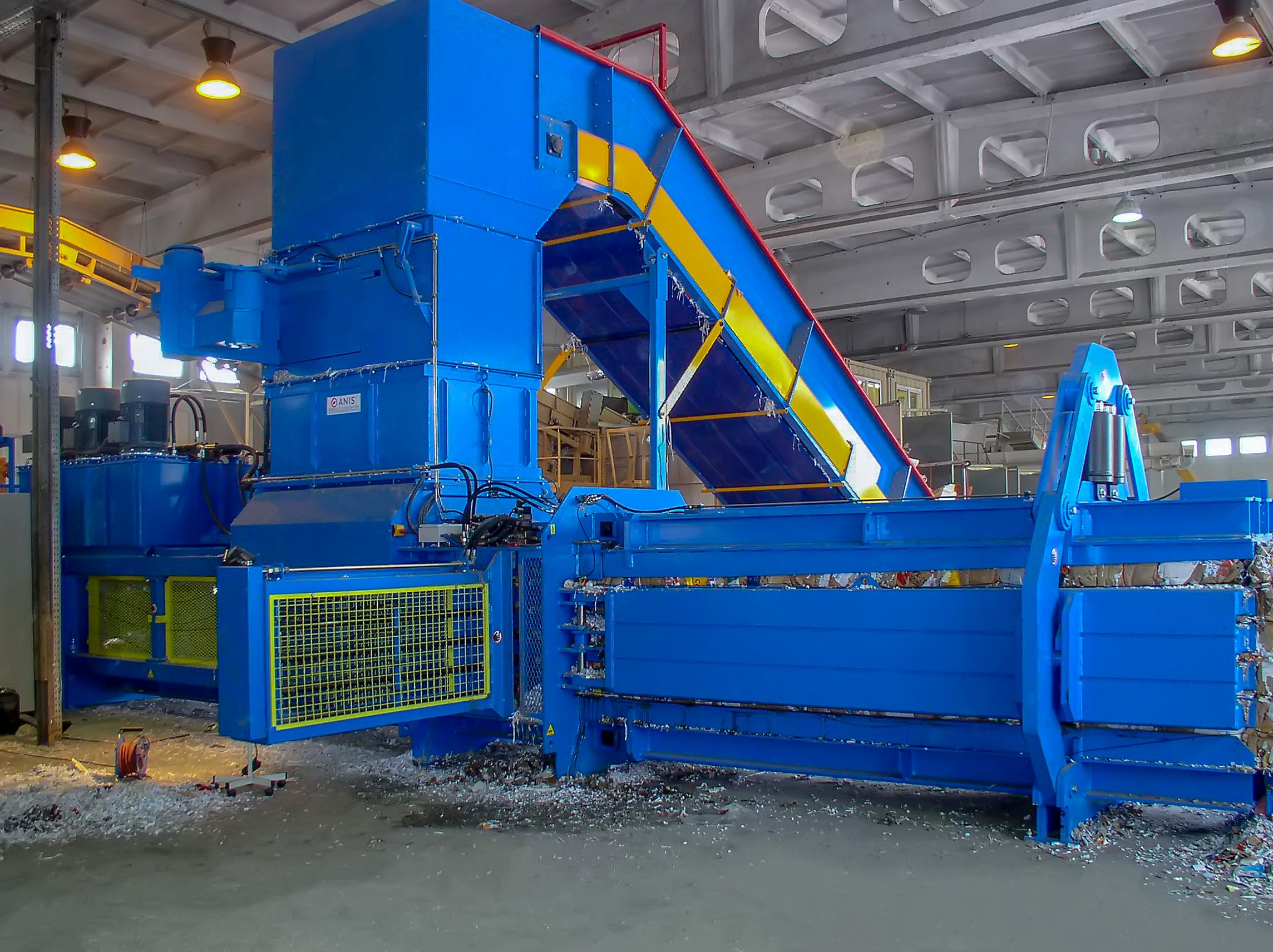 Materialschneidverteiler kanalballenpressen