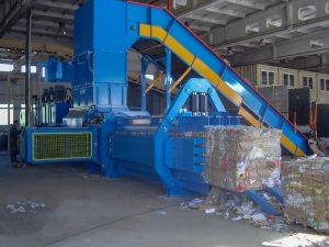 Vorpresse für Papierballenpressen