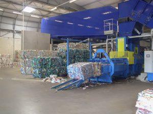 Recycling Ballenpresse