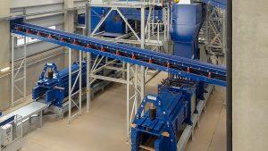 Ballenpresse für Materialrecyclinganlagen