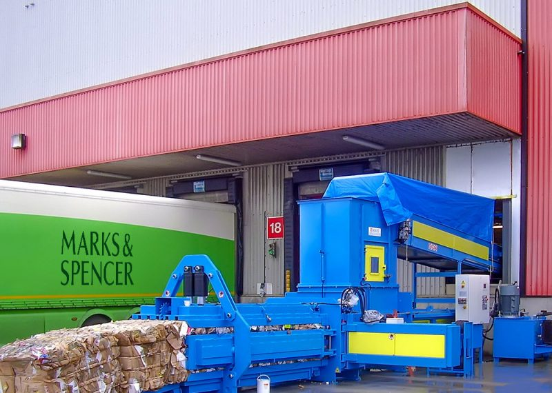 Baler for Large-scale retailer