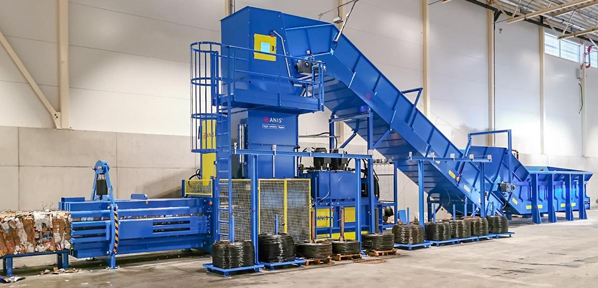 Großspulensystem für Stahldraht