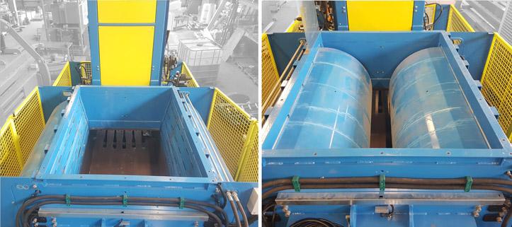 Side double pre-press flaps