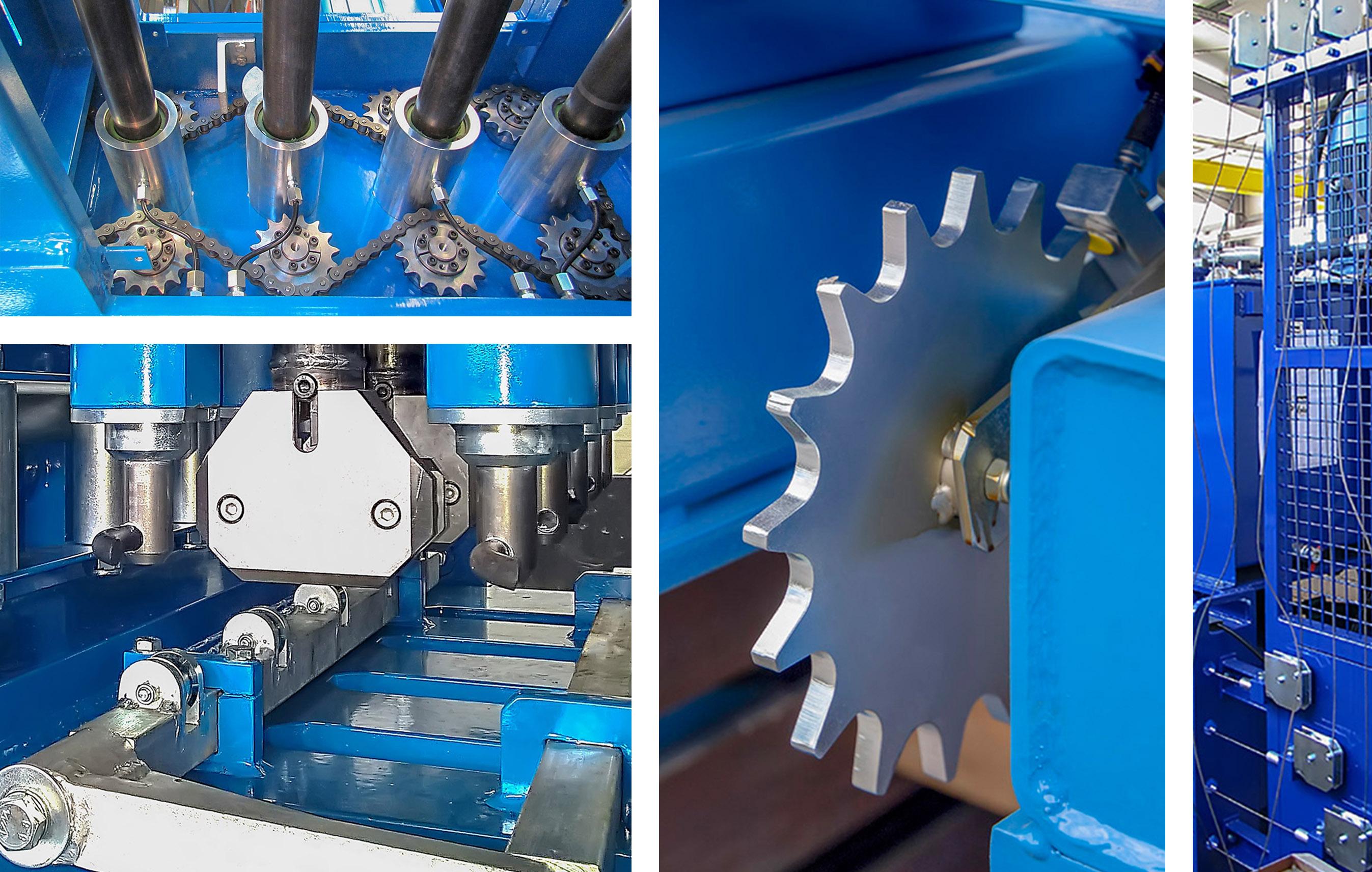 Hot-dip galvanized parts