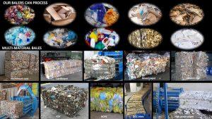 Ballenpresse für nichtmetallische Abfälle