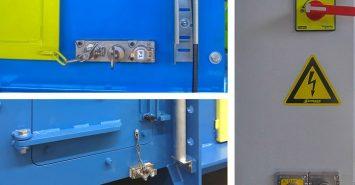 Zaklep ključavnic s sistemom ujetih ključev (za varno delovanje s strojem)