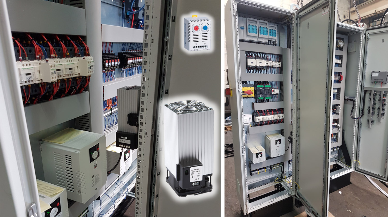 Calentador de ventilador de caja