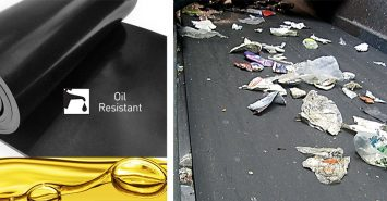 Rubber conveyor belt – Oil & grease resistant