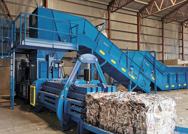 Horizontal Recycling Balers