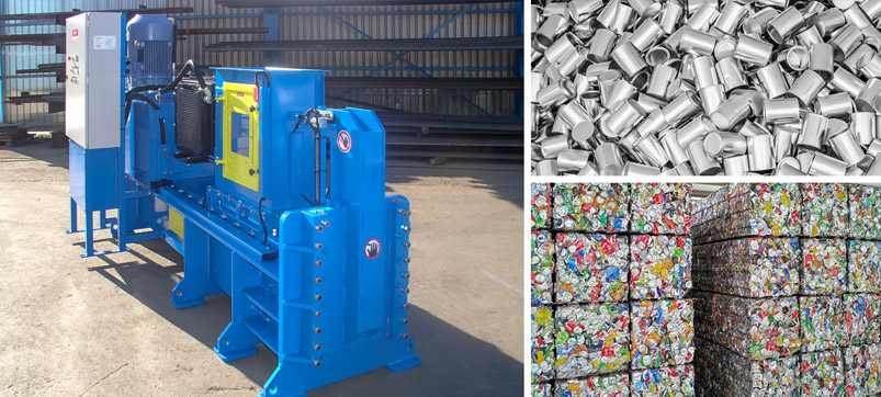 Automatic can crusher