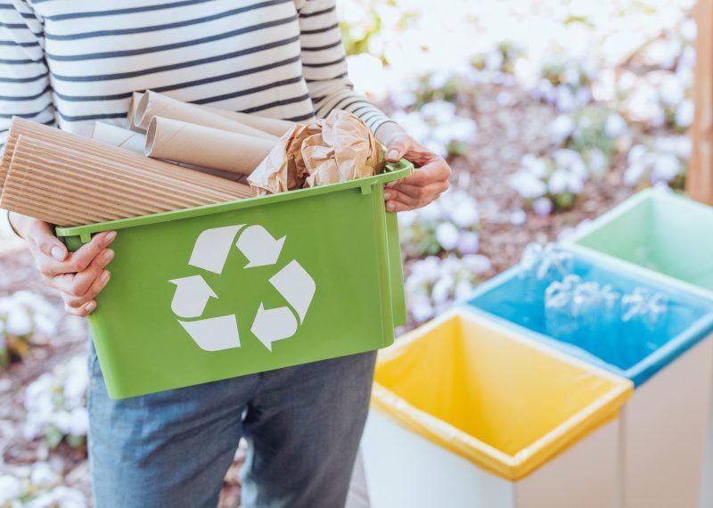 recycling baler