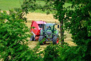 Tractor Baler